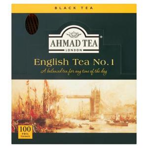 Herbata eksp. AHMAD TEA English No.1 op.100 kopert - 2874810264