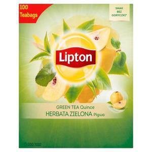 Herbata eksp. LIPTON Green TEA op.100 - pigwa - 2874810302