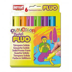 Farby w sztyfcie PlayColor Fluo 6k. 10421 - 2874810482