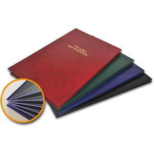 Teczka do podpisu BARBARA A4 8k. Mix kolorów - 2881305147