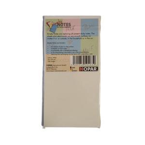 Karteczki magnetyczne 10x20cm op.100 - białe - 2881305260