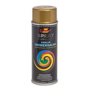 Farba w aerozolu spray 400ml. - złota - 2881305309