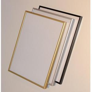 Ramka aluminiowa A4 210x297 - srebrna - 2881305436