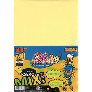 Papier xero kolor PASTELLO A4 80g mix NEON op.500 - 2881305476