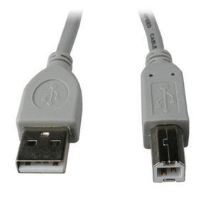 Kabel GEMBIRD CCP-USB2-AMBM-6G (USB 2.0 typu A M - USB 2.0 typu B M; 1,8m; kolor szary) - 2881305489