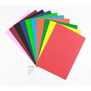 Tektura falista OK-OFFICE A4 - mix kolorów 1 ark. - 2881305524