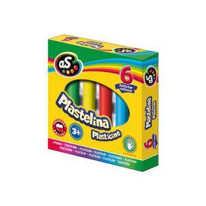 Plastelina AS 6 kolorów - 2825402809