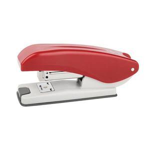 Zszywacz ICO Boxer S2 zszywa do 20 kartek zszywanie na zewnątrz czerwony - 2881305722