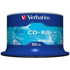 Płyta CD-R VERBATIM 700MB cake op. 50szt. - 2881305923