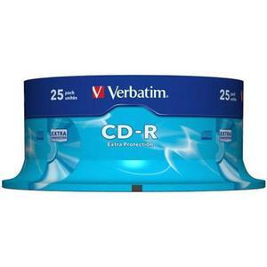 Płyta CD-R VERBATIM 700MB cake op. 25szt. - 2881305925