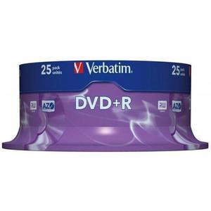 Płyta DVD+R VERBATIM AZO cake op. 25szt. - 2881305928