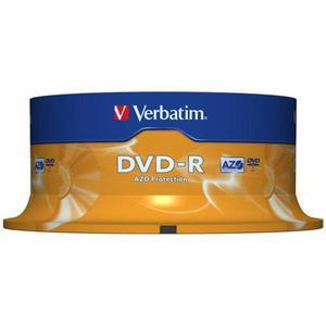 Płyta DVD-R VERBATIM AZO cake op. 25szt. - 2881305930