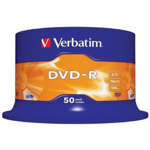 Płyta DVD-R VERBATIM AZO cake op. 50szt. - 2881305933