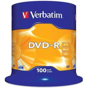 Płyta DVD-R VERBATIM AZO cake op. 100szt. - 2881305934