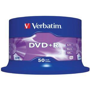 Płyta DVD+R VERBATIM AZO cake op. 50szt. - 2881305935