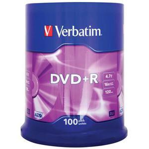 Płyta DVD+R VERBATIM AZO cake op. 100szt. - 2881305936