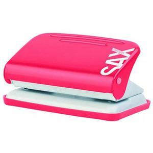 Dziurkacz SAXDesign 218 paperbox do 12 k. czerwo. - 2881306021