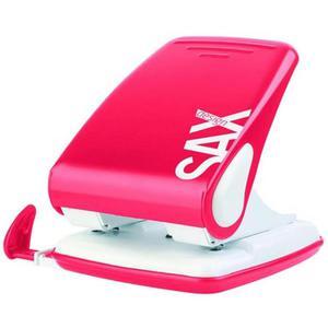 Dziurkacz SAXDesign 518 do 40 k. czerwony - 2881306035