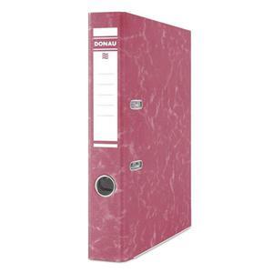 Segregator DONAU Eco kartonowy A4 50mm czerwony - 2881306346