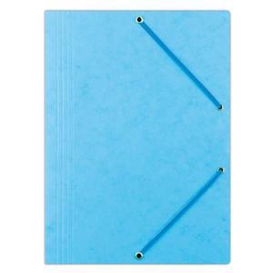 Teczka z gumką OFFICE PRODUCTS presz. A4 - jasnoniebieska - 2881306368