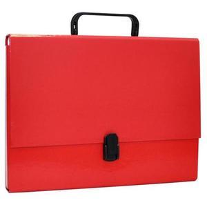 Teczka z rączką OFFICE PRODUCTS A4/5 czerwona - 2881306474