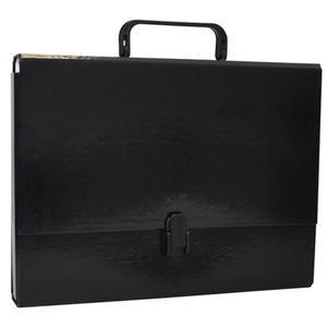 Teczka z rączką OFFICE PRODUCTS A4/5 czarna - 2881306475