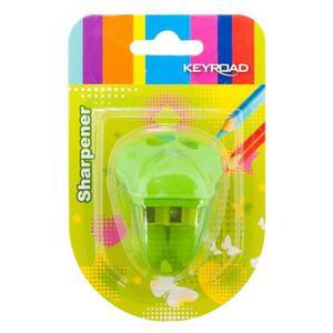 Temperówka KEYROAD plastikowa podwójna blister mix kolorów - 2881306850