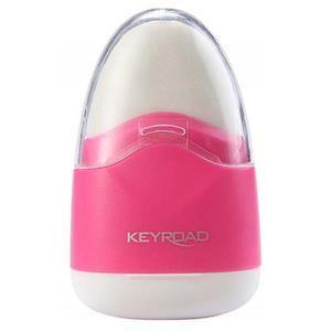 Temperówka KEYROAD Navy plastikowa pojedyńcza z gumką pakowane na displayu mix kolorów - 2881306857
