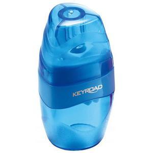 Temperówka KEYROAD Easy Go plastikowa pojedyńcza z pojemnikiem pakowane na displayu mix kolorów - 2881306863