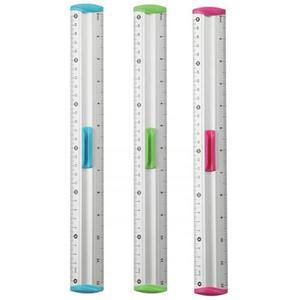 Linijka z uchwytem KEYROAD Measure Clip 30 cm pakowane na displayu mix kolorów - 2881306872