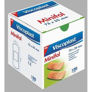 Plastry VISCOPLAST MINIFOL 72x25mm 100szt. - 2881307112
