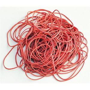 Gumki recepturki Q-CONNECT 100g średnica 50mm czerwone - 2881307333