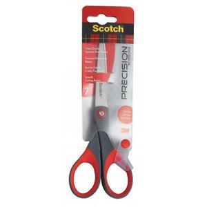Nożyczki biurowe SCOTCH (1447) precyzyjne 18cm czerwono-szare - 2881307353