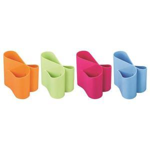 Przybornik na biurko ICO Lux mix kolorów - 2881307446