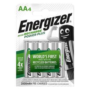 Akumulator ENERGIZER Power Plus, AA, HR6, 1,2V, 2000mAh, 4szt. - 2881307806