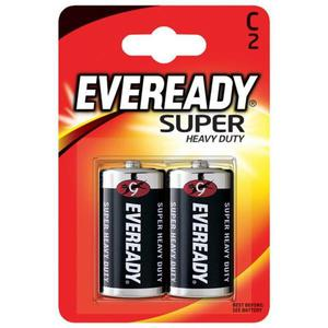 Bateria EVEREADY Super Heavy Duty, C, R14, 1,5V, 2szt. - 2881307824