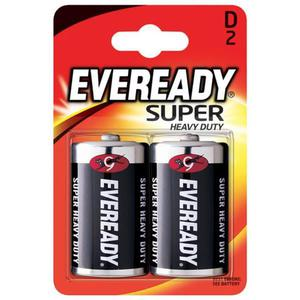 Bateria EVEREADY Super Heavy Duty, D, R20, 1,5V, 2szt. - 2881307825