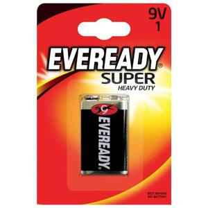 Bateria EVEREADY Super Heavy Duty, E, 6F22,9V - 2881307830