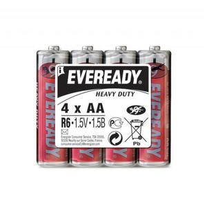 Bateria EVEREADY Heavy Duty, AA, R6, 1,5V, 4szt. - 2881307847