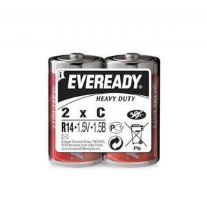 Bateria EVEREADY Heavy Duty, C, R14, 1,5V, 2szt. - 2881307848