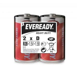 Bateria EVEREADY Heavy Duty, D, R20, 1,5V, 2szt. - 2881307849