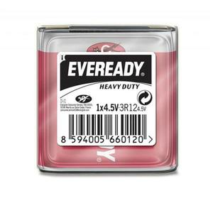 Bateria EVEREADY Heavy Duty, 3R12, 4,5V - 2881307868