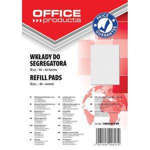 Wkład do segregatora OFFICE PRODUCTS A4 # 50k mix - 2881307900