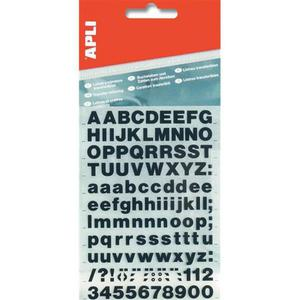 Litery samoprzylepne APLI 25mm - 2881307963