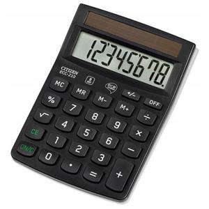Kalkulator CITIZEN ECC-210 8-cyfrowy 143x102mm czarny - 2881308149