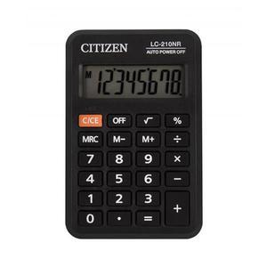 Kalkulator CITIZEN kieszonkowy LC210NR 8-cyfrowy 98x64mm czarny - 2881308152