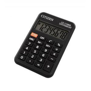 Kalkulator CITIZEN kieszonkowy LC310NR 8-cyfrowy 114x69mm czarny - 2881308153
