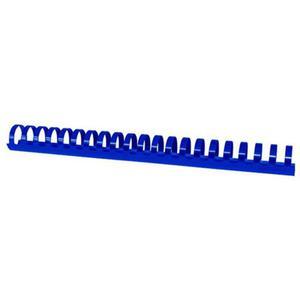 Grzbiety do bindowania OFFICE PRODUCTS A4 28,5mm (270 kartek) 50 szt. niebieskie - 2881308278