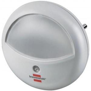 Lampka nocna BRENNENSTUHL do korytarza, okrągła, biała - 2881308522