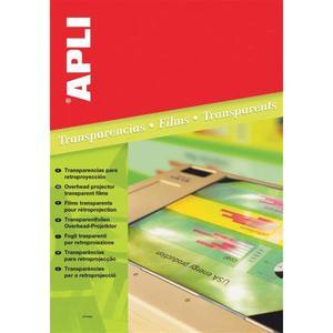 Folia do rzutników APLI, A4, do drukarki atramentowej, 50ark. - 2881308533